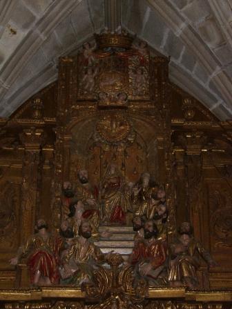 Detalle del interior de San Pedro
