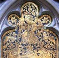 Brass Angel - Winchester Cathedral