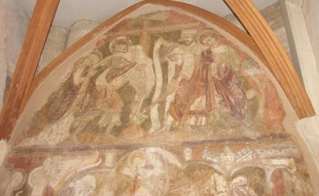 Medieval Painting - Winchester Cathedral