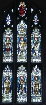 Stained Glass Angels - Winchester Cathedral