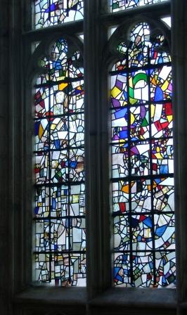Stained Glass Window - Winchester Cathedral