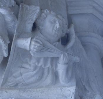 Stone Angel - Winchester Cathedral