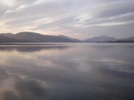 Loch Lomond on a Still Early Spring Evening