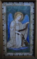Mosaic Angel Lady Chapel Altar St Bride's