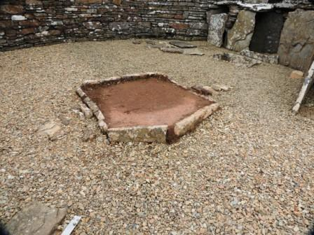Broch of Gurness central hearth