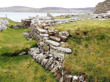 Broch of Gurness defencive ditches