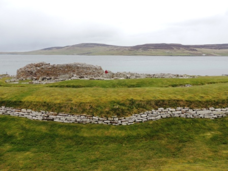Broch of Gurness tall central tower