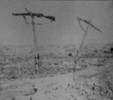 WWI gun crosses