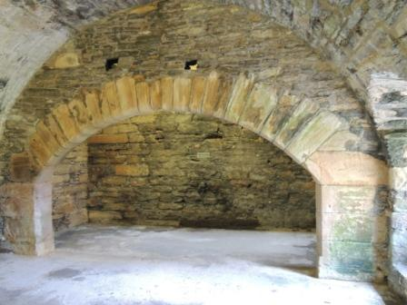 Earl's Palace, Kitchen Fireplace