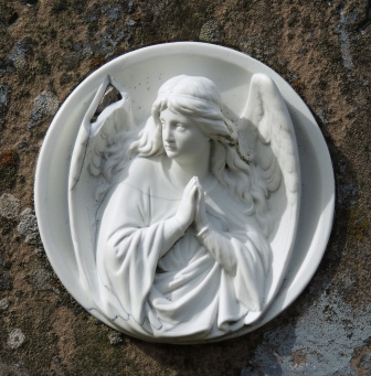 Cameo Gravestone Orphir Church Orkney
