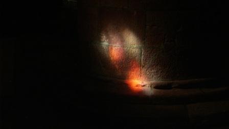 Light Dancing on Stone