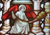 All Saints Waltham censing angel
