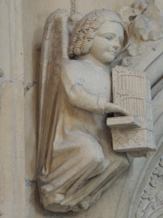 Organ Playing angel - Beverly Minster