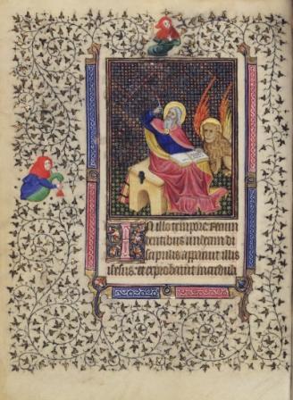 Opening St Mark Gospel