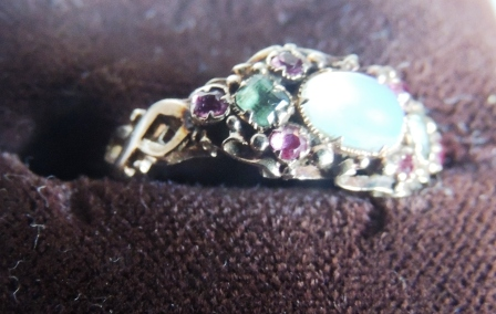 Suffragette ring