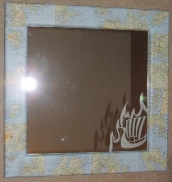 Shetland mirror