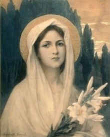 Virgin Mary by Elisabeth Sonrel 1874–1953