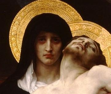 Pieta by William Bouguereau